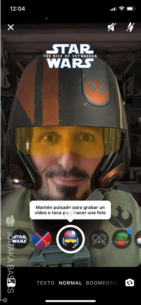 Filtro Star Wars