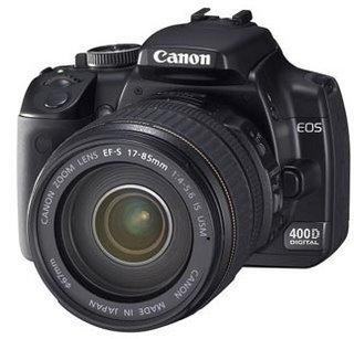 400D, posible nueva SLR Digital de Canon