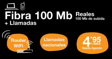 ¿Conexión de Banda Ancha fija de 100 Mb por 4,95 euros? Nueva promoción de Adamo
