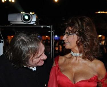 La Loren y Depardieu en Tenerife