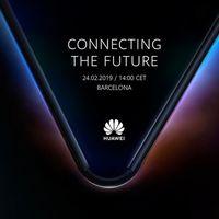 Huawei nos cita para el día 24 de febrero en el MWC, ¿móvil plegable a la vista?