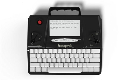 Una máquina de escribir diferente: llega Hemingwrite