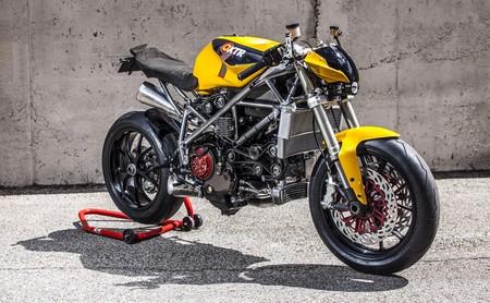 Cuando una Ducati 848 se reencarna en una naked steampunk: XTR Pepo Doud Maquina