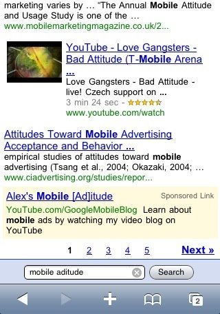 Llega Adwords a los smartphones