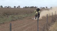 Hayabusa power para una moto de subidas de colinas