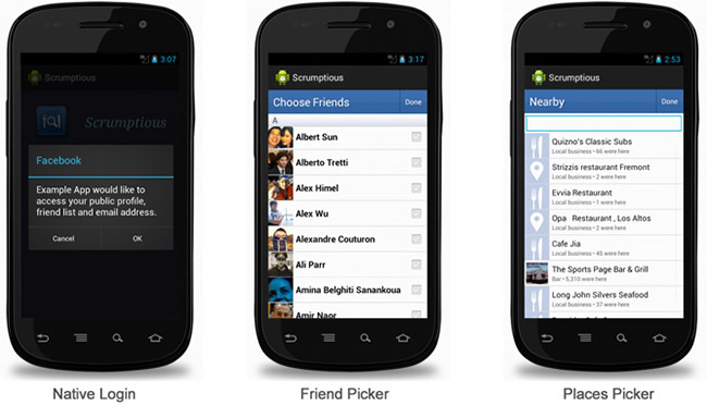 Facebook Android SDK 3