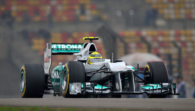 Nico Rosberg GP de China