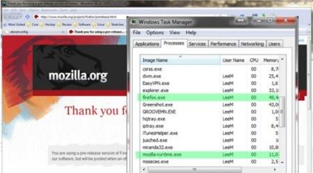 Firefox se ayuda del código de Chrome para tener plug-ins multiproceso