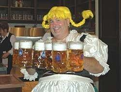 Mundial de fútbol, cubas de cerveza