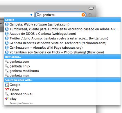 Peers, el equivalente de Inquisitor para Firefox