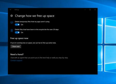 Windows 10 Free Up Space
