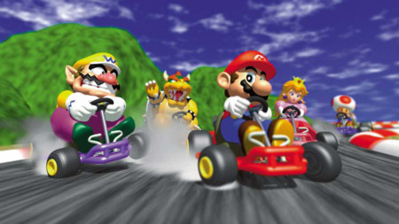Mario, Luigi, Toad y compañía pisan a fondo el acelerador: Mario Kart 64 llega a Wii U esta semana