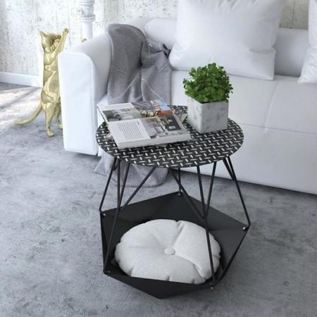 Stylish Krater Side Table With A Space For Cats 2 554x554