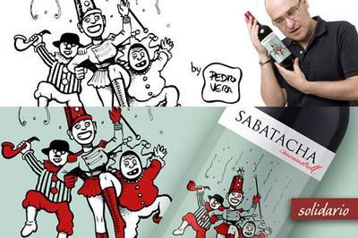 Sabatacha Solidario, Pedro Vera y los 'Ilustres Ignorantes' se unen al vino de Jumilla por una buena causa