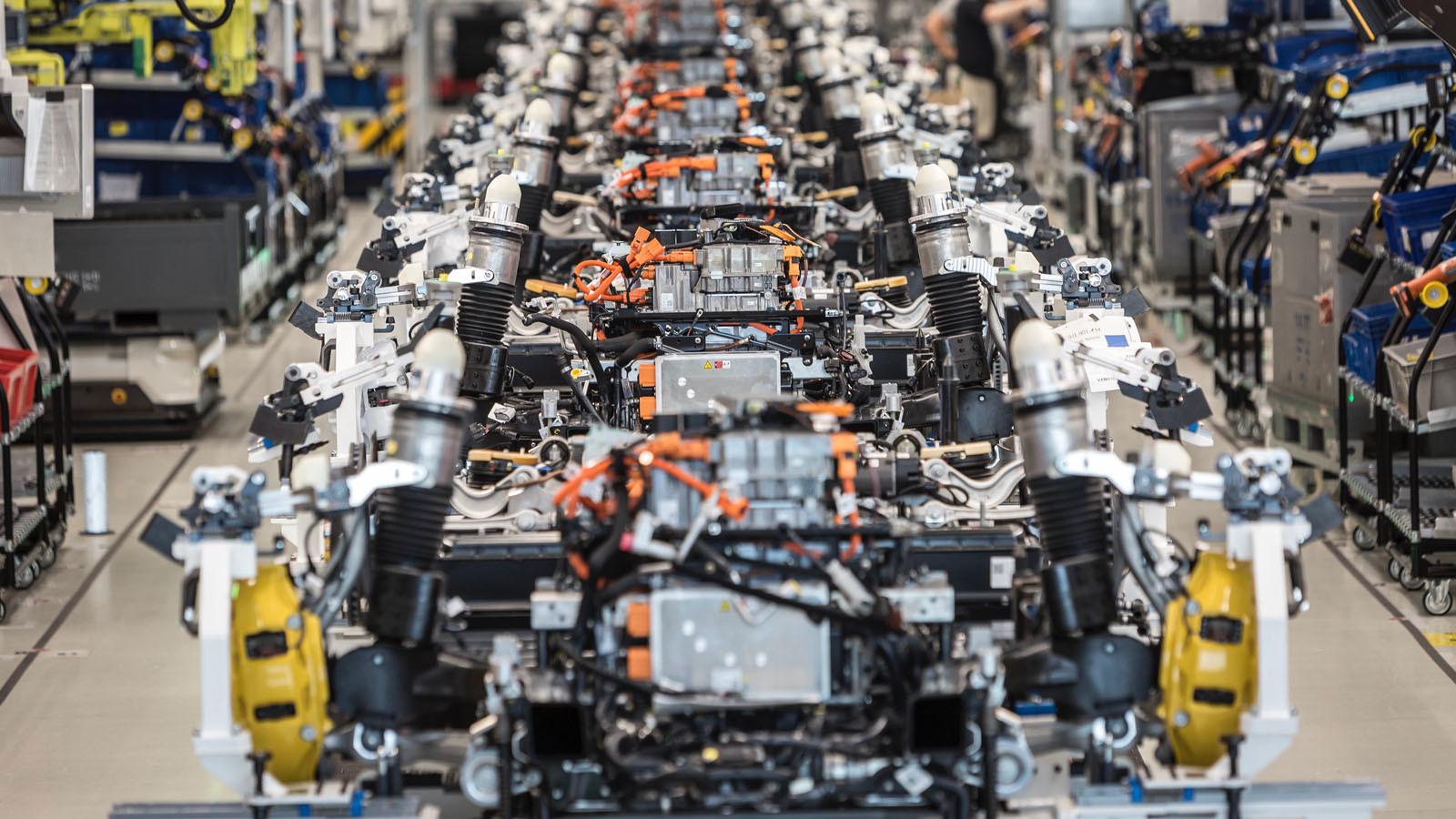 Foto de Fábrica Porsche Taycan (inauguración) (23/44)