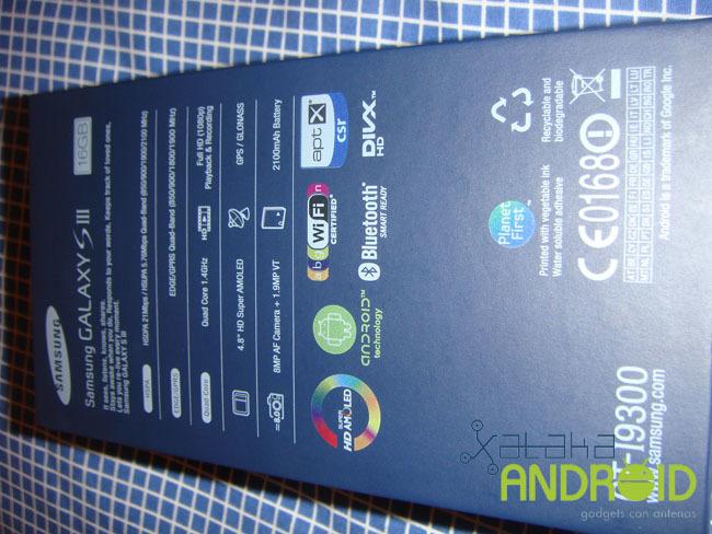 Samsung Galaxy SIII, análisis a fondo