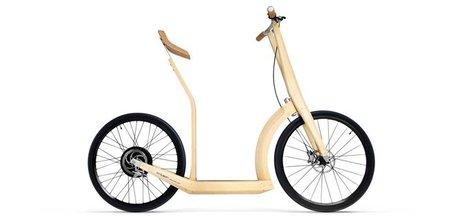 T20, un nuevo prototipo de scooter eléctrico realizado con bambú