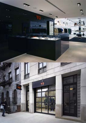 Inauguración de tienda Y-3 en Nueva York