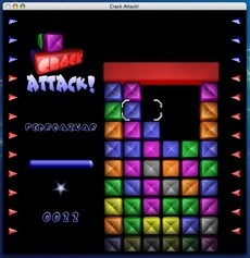 Crack Attack Mini Juego Tipo Tetris Para Jugar Solo O En Red