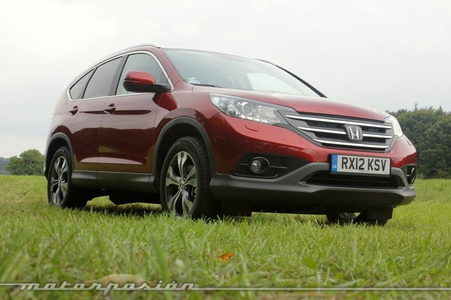 Honda CR-V, vista frontolateral 3/4