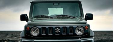 Un Suzuki Jimny de mayores dimensiones es captado con camuflaje, la variante de carga y una pick-up podrían estar en desarrollo