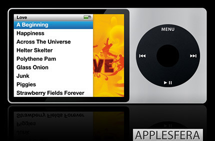 nuevo iPod, por Miguel Michán