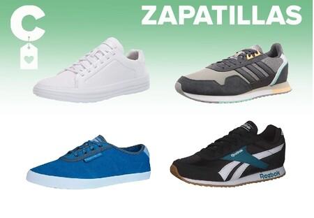 Chollos en tallas sueltas de zapatillas Skechers, Adidas o Reebok en Amazon