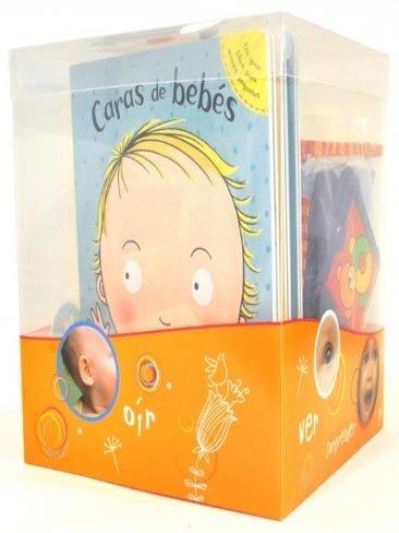 Caja de regalo con libros y juegos para bebés