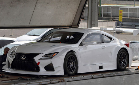Cazado el Lexus RC-F en especificación de GT3 en Okayama