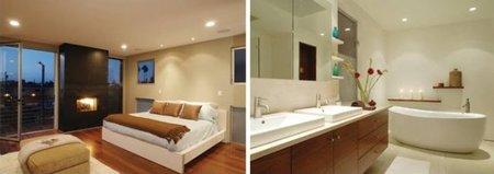 El baño y la cocina de Lindsay Lohan