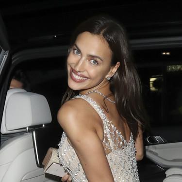 Irina Shayk se desnuda con su look para la fiesta post-BAFTA 2020