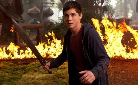Logan Lerman es Percy Jackson