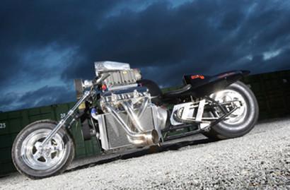 Rapom V8, la moto inglesa mas potente