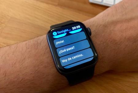 Cómo personalizar las respuestas predeterminadas de iMessage y Telegram en watchOS