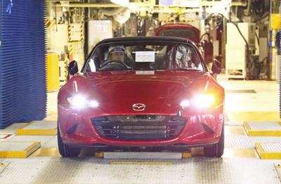 Comienza a producirse el Mazda MX-5