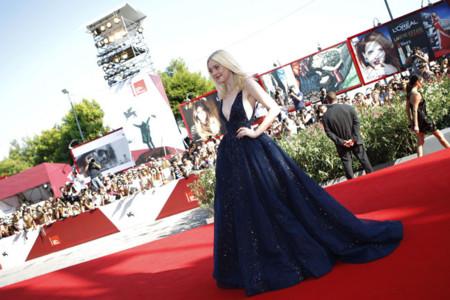 Dakota Fanning: una princesa en el Festival de Venecia