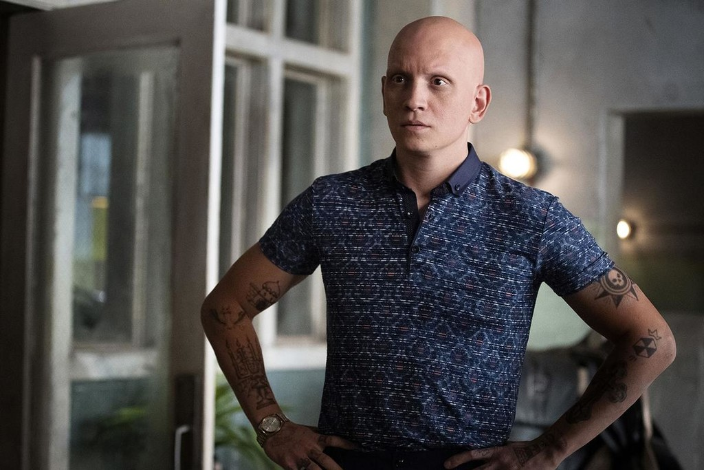Anthony Carrigan is the villain of