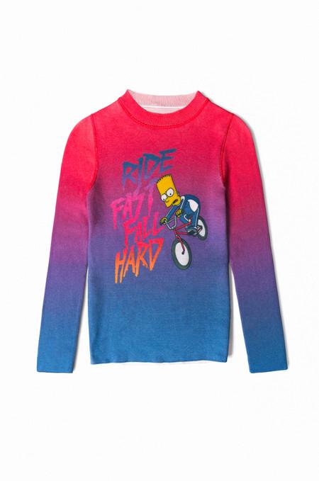 Lucien Pellat Finet Bart Simpson Sweaters Hoodie