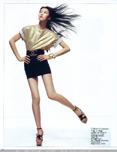 Foto de Liu Wen, una modelo china haciendo historia (20/20)