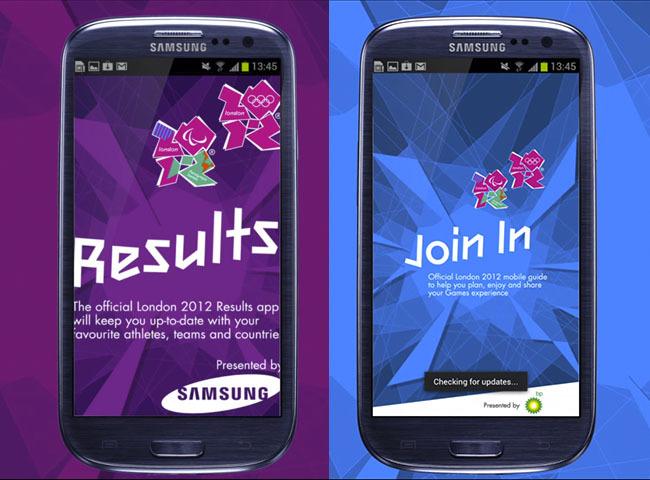 London 2012 apps