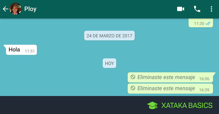 Cómo borrar mensajes de Whatsapp antiguos