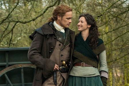 Outlander Sam Heughan Jamie Fraser Caitriona Balfe Claire Fraser Outlander Season 5