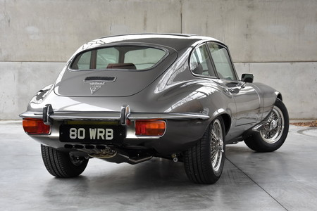 Jaguar E-Type 1973 restaurado por E-Type UK