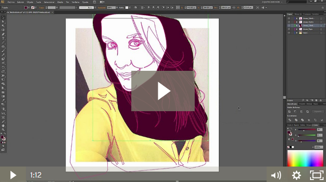 Ilustracion Digital Vectorizate Curso Crehana