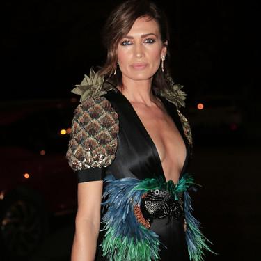 Nieves Álvarez con su look más espectacular hasta la fecha (gentileza de Gucci, obviamente)