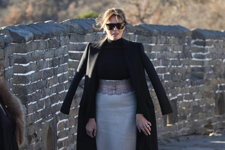 Desde la Gran Muralla China, Melania Trump parece dispuesta a dominar el mundo