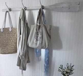 Recicladecoración: un colgador hecho con un remo