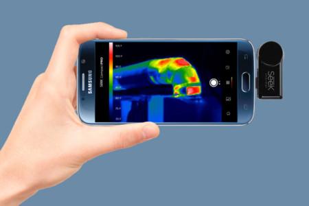 Seek Compact PRO, un accesorio que convierte tu smartphone en una cámara térmica