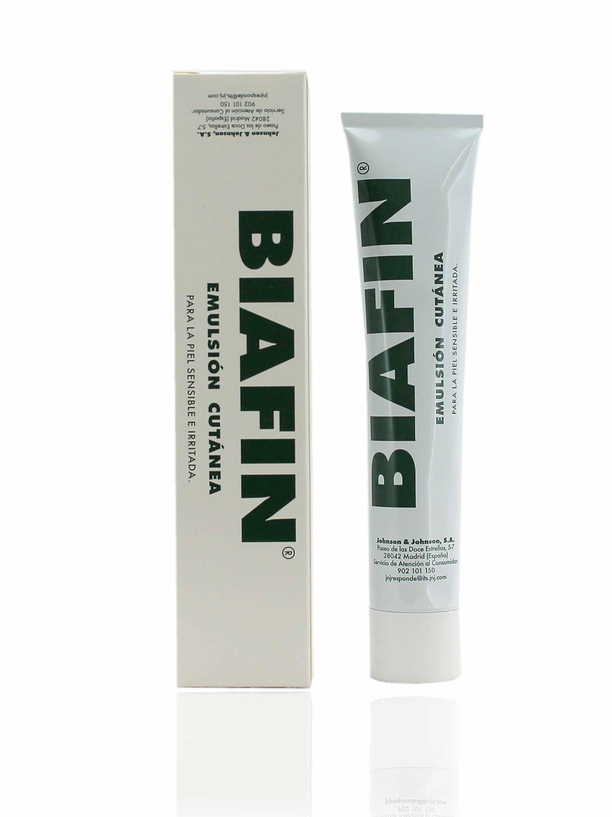 Emulsión cutánea para piel sensible e irritada de Biafin