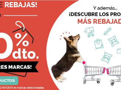 Rebajas en Animalear, todo tipo de productos para mascotas con descuentos